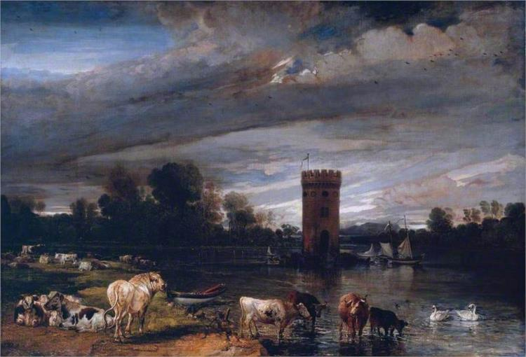 View in Tabley Park - James Ward