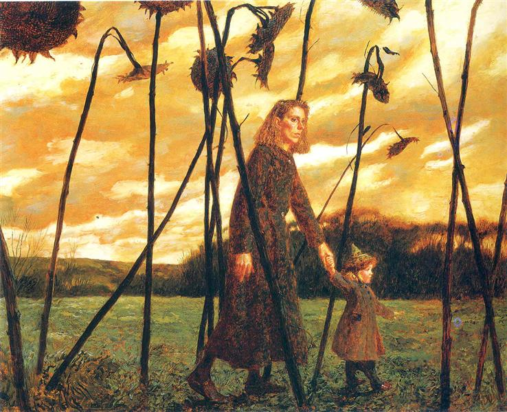 http://uploads6.wikipaintings.org/images/jamie-wyeth/giuliana-and-the-sunflowers-1987.jpg!Large.jpg