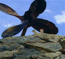 Wreck of the Polias - Jamie Wyeth