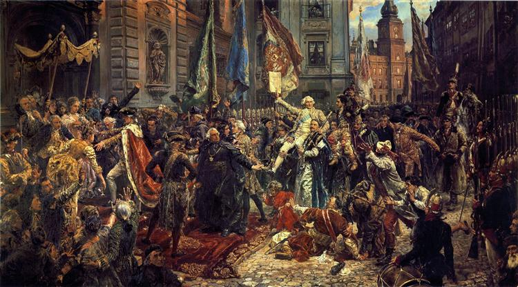 constitucion de mayo 3, 1791, 1891 - Jan Matejko