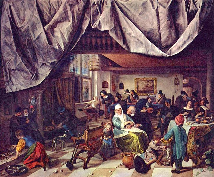 Life of Man, 1665 - Jan Steen