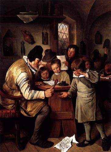 Schoolmaster - Jan Steen