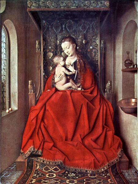 The Lucca Madonna, 1436 - Jan van Eyck
