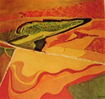 Aerial Series - Ploughed Fields, Maryland - Джейн Франк