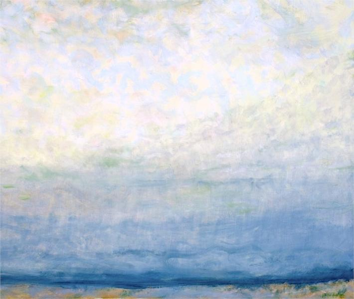 Yesterday's Clouds, 2010 - Jane Wilson