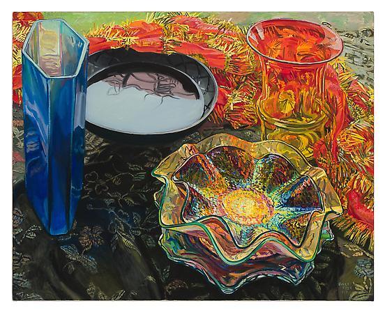 Black Bowl Red Scarf, 2007 - Janet Fish