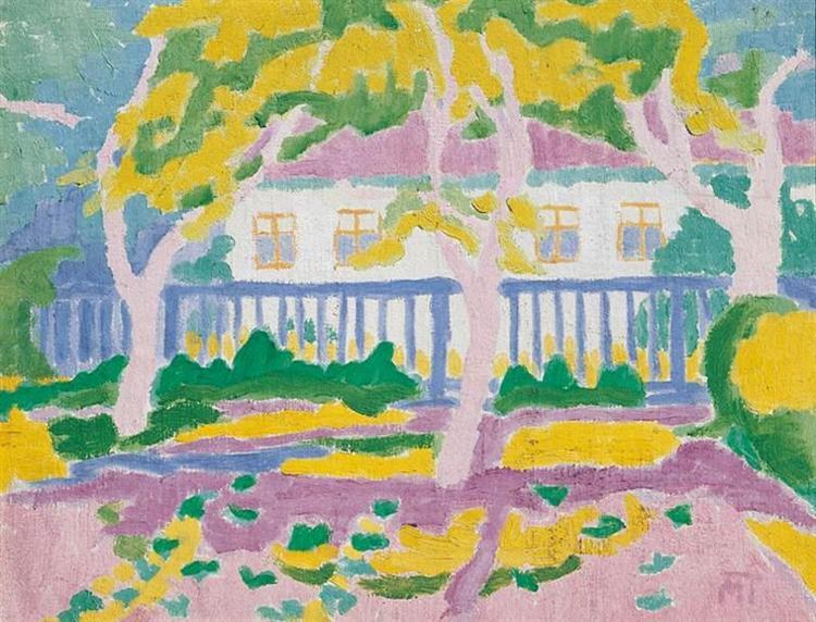 Mattis Teutsch's Birthplace, 1910 - Janos Mattis-Teutsch