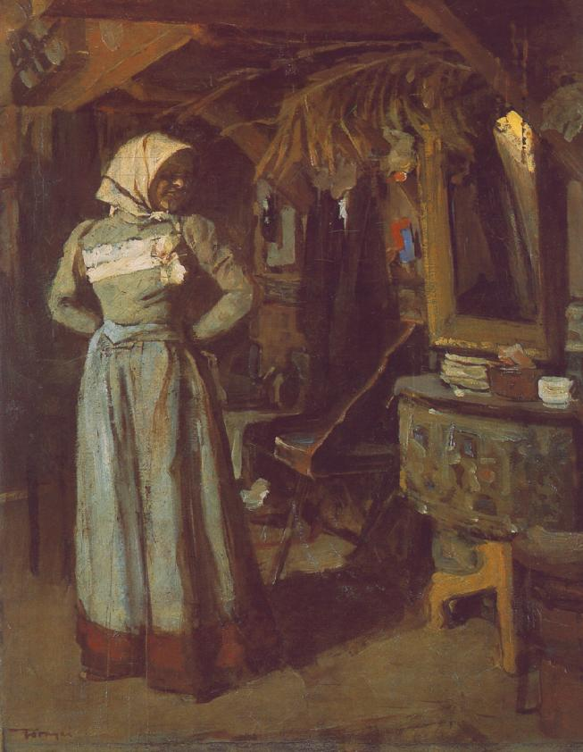 Young Woman in the Atelier, 1904