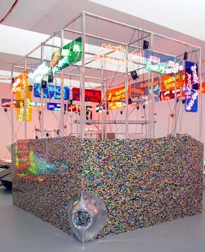 Lego Mecca Kaâba (1/3 scale), 2003 - Jason Rhoades