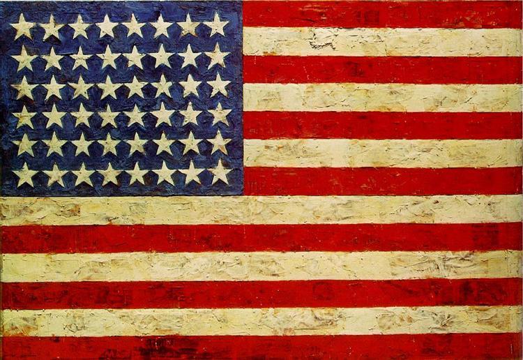Flag, 1955 - Jasper Johns