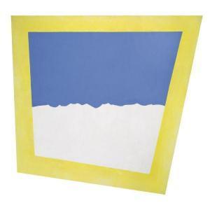 Skyline In Yellow Frame - JCJ Vanderheyden