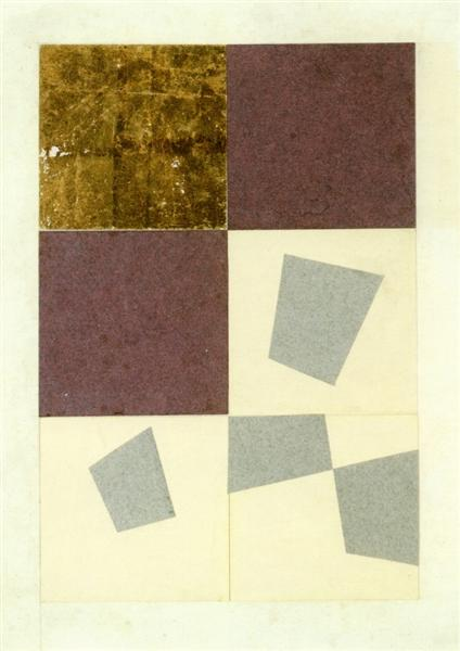 Geometric Collage, 1916 - Jean Arp