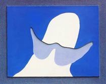 Head with mustache - Jean Arp