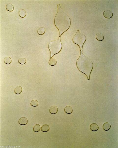 Leafage and Drops, 1920 - Jean Arp