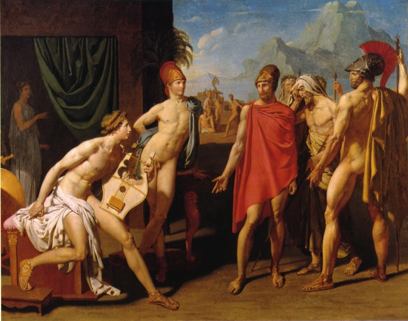 Ambassadors Sent by Agamemnon to Urge Achilles to Fight, 1801