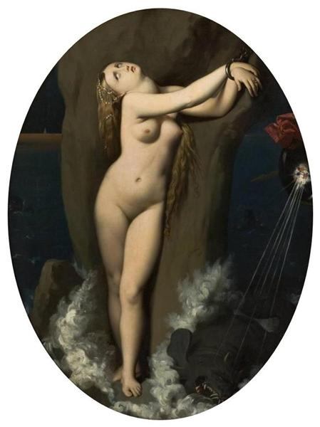 Angelica in Chains, 1818 - 1859 - Jean Auguste Dominique Ingres