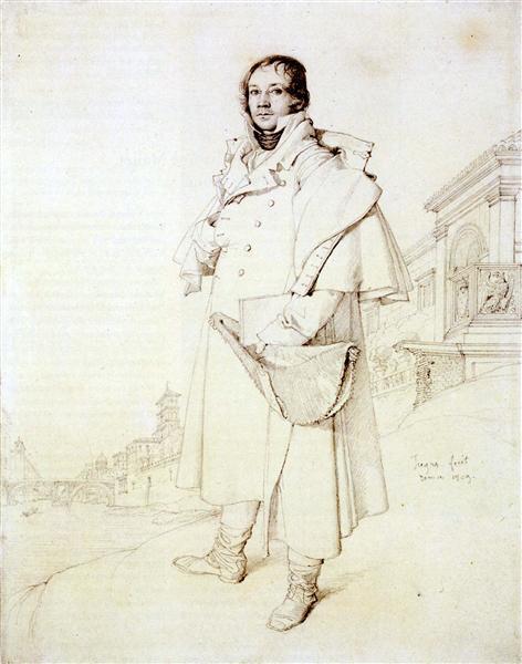 Charles François Mallet - Jean Auguste Dominique Ingres