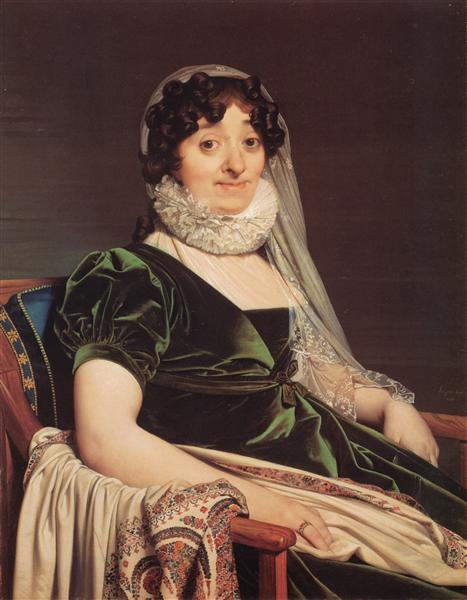 Comtes de Tournon, née Geneviève de Seytres Caumont, 1812 - Jean Auguste Dominique Ingres