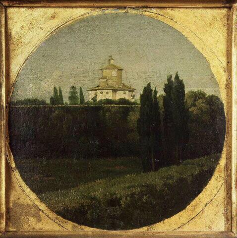 Le casino de l'Aurore de la villa Ludovisi, 1806 - Jean Auguste Dominique Ingres