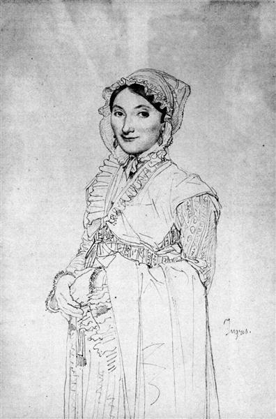 Madame Charles Hayard, born Jeanne Susanne - Jean Auguste Dominique Ingres