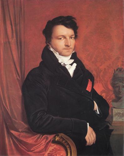 Monsieur de Norvins - Jean Auguste Dominique Ingres
