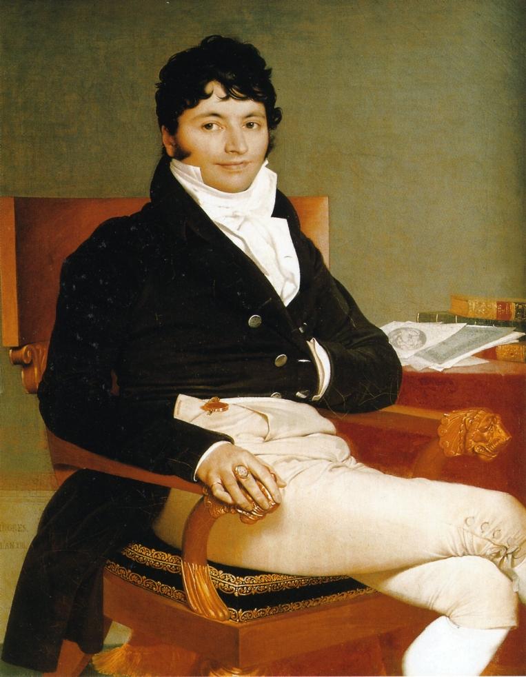 Portrait of Monsieur Rivière, 1805