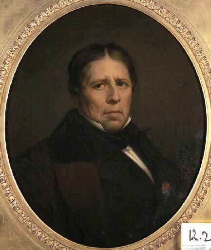 Self-Portrait, 1858 - Jean Auguste Dominique Ingres