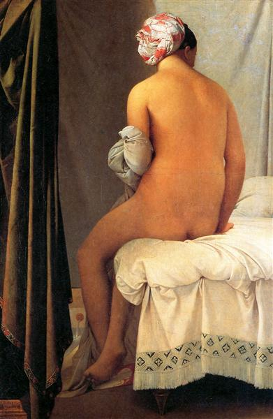 The Bather of Valpinçon, 1808 - Jean Auguste Dominique Ingres