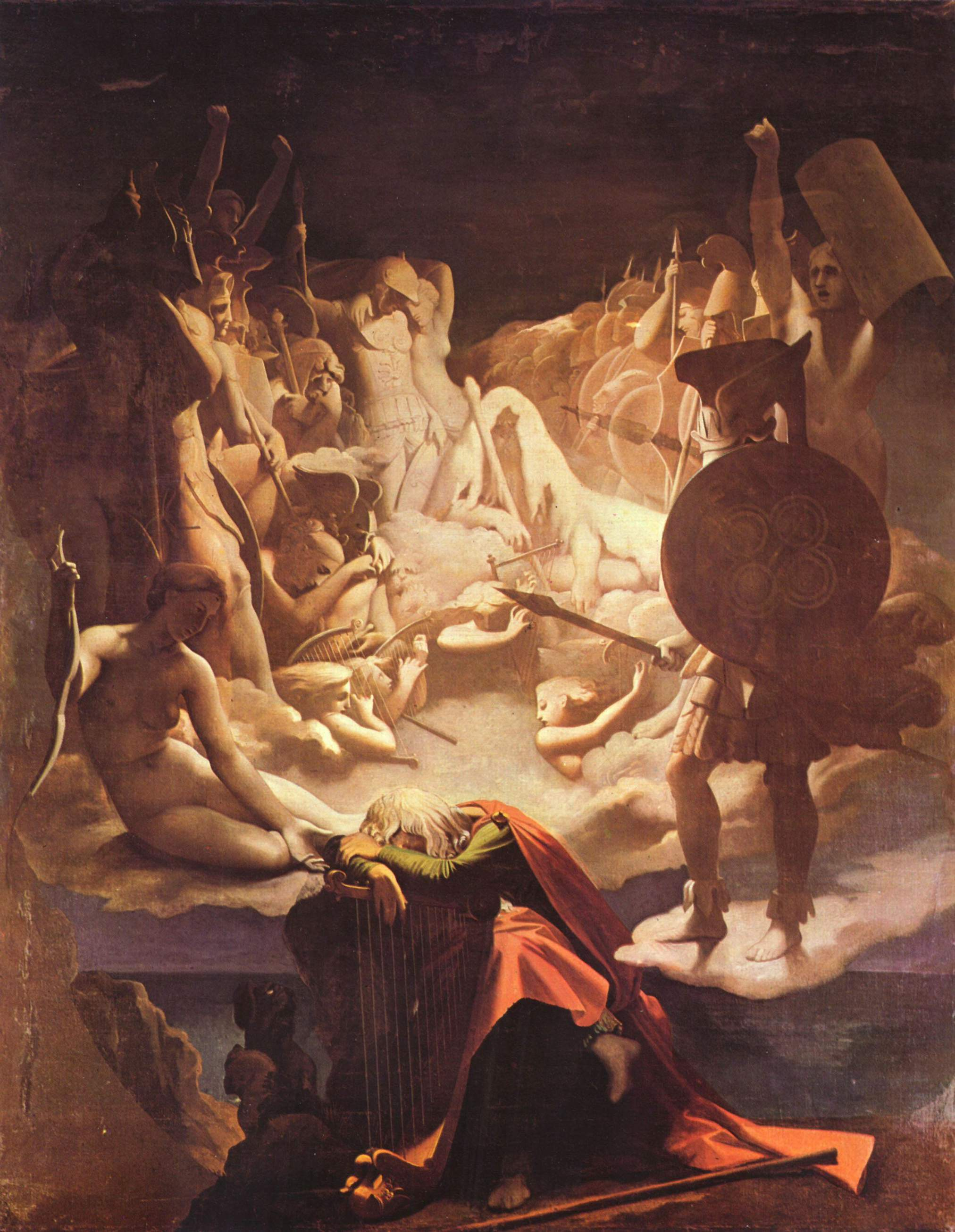 The Dream of Ossian, 1813