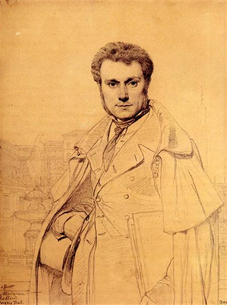 Victor Baltard - Jean Auguste Dominique Ingres