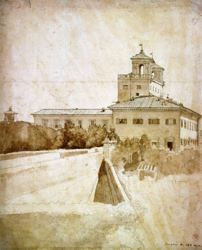 View of the Villa Medici, 1807