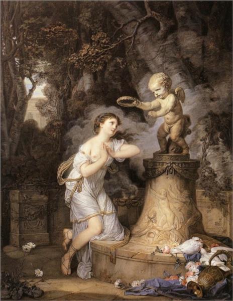 Votive Offering to Cupid, 1767 - Jean-Baptiste Greuze