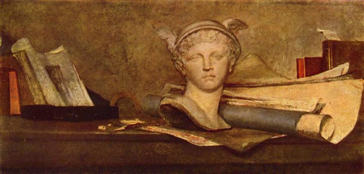 Still life, 1728 - Jean-Baptiste-Simeon Chardin