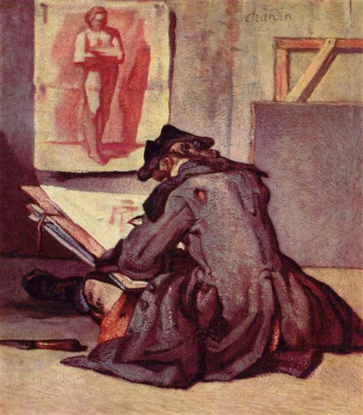Thesignatories, c.1738 - Jean-Baptiste-Simeon Chardin