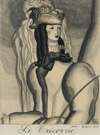 Le tricorne, 1928 - Jean Dupas