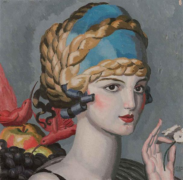 Pomone (Mlle Marguerite Grain), 1923 - Jean Dupas