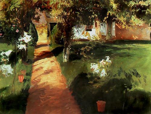 Garden - Jean-Francois Millet