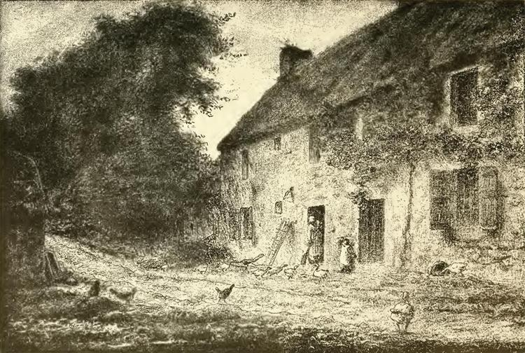House birthplace Millet - Jean-Francois Millet