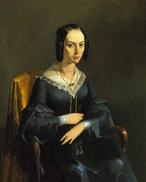 The Comtesse of Valmont, c.1841 - Jean-Francois Millet