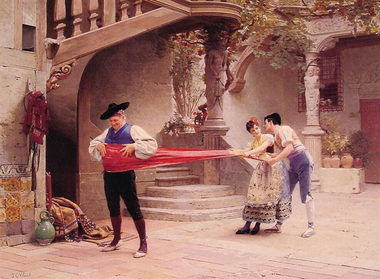 The Final Touch - Jean-Georges Vibert