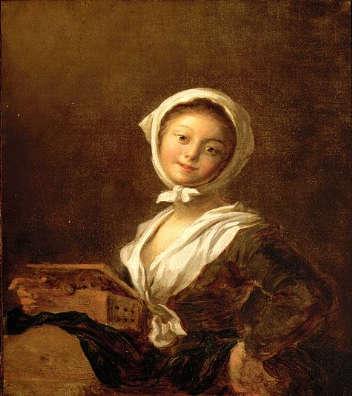 Girl with aMarmot, 1770 - 1790 - Jean-Honore Fragonard