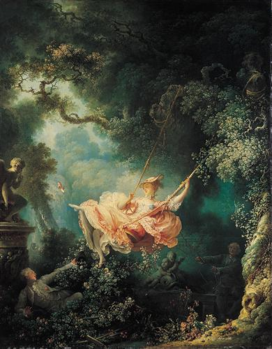 The Swing - Jean-Honore Fragonard
