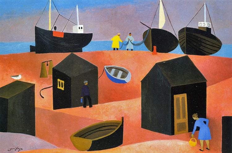 Barques - Jean Hugo