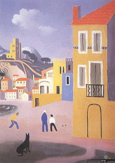 The Boule Players - Jean Hugo