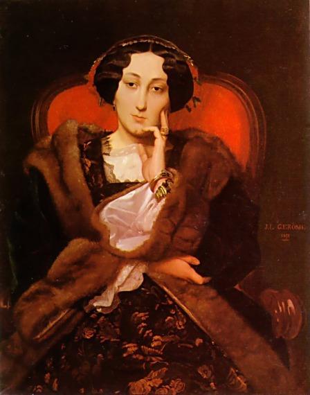 Portrait of a Lady2, 1851 - Jean-Leon Gerome