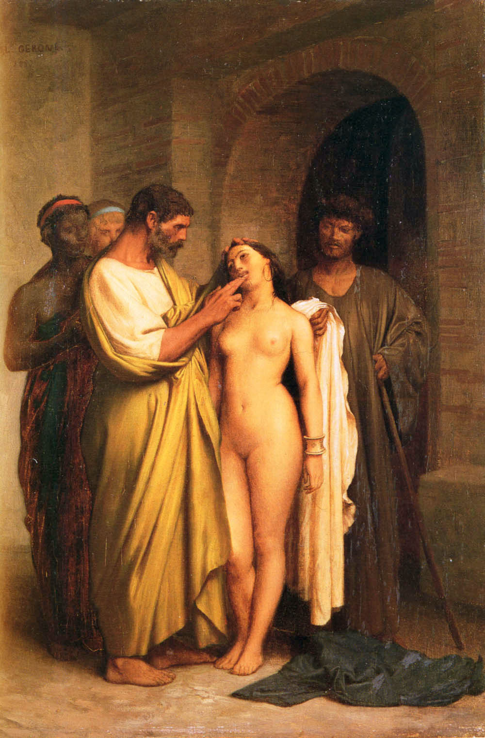 purchase of a slave   jean leon gerome   wikiart org