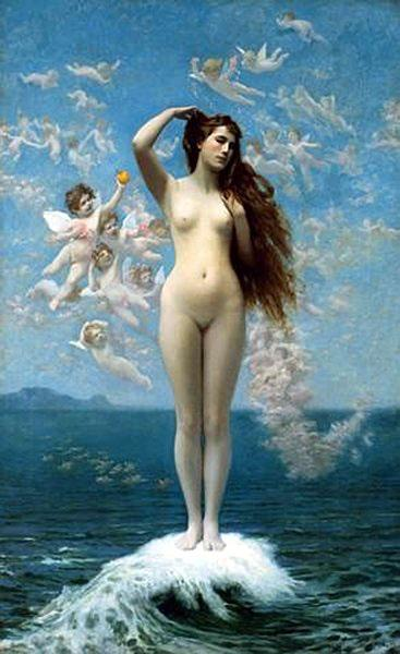 The Birth of Venus, 1890 - Jean-Leon Gerome