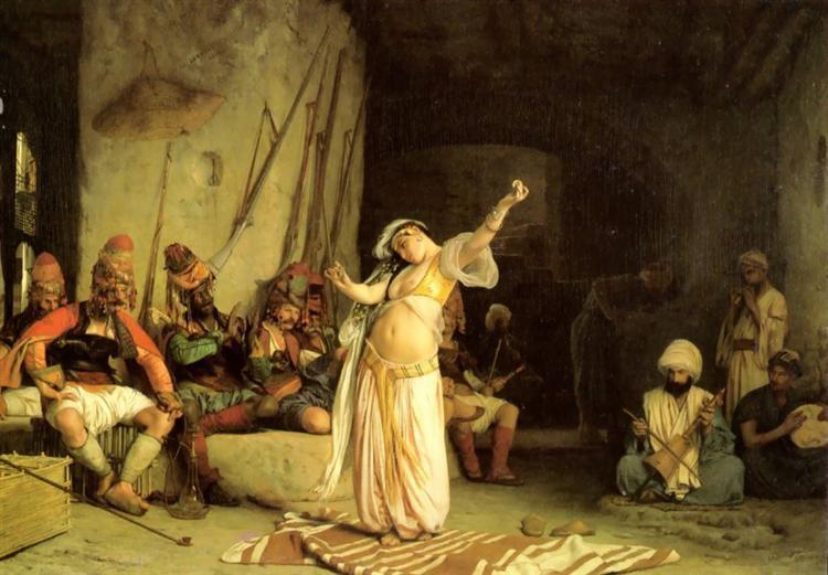 La danza de la Almeh - Gérôme Jean-León