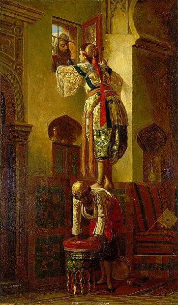 The Tryst, c.1840 - Jean-Leon Gerome