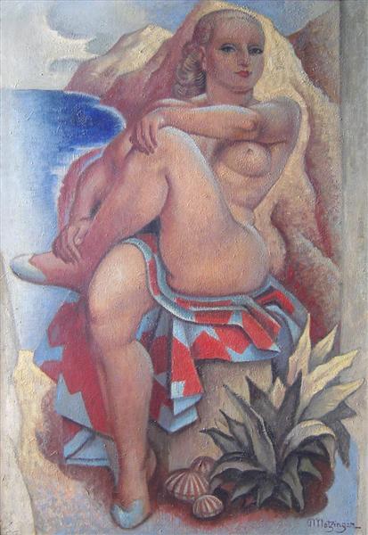 La Baigneuse, (Nu), 1937 - Jean Metzinger